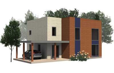 timber frame and modular house
