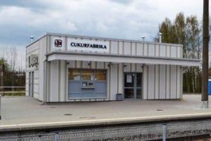 TIVO Cukurfabrika Train Station