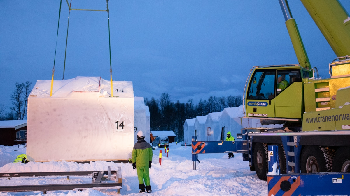 TIVO HOUSES Tromso Camping Assembly